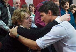 Трюдо испытал на себе силу отчаяния налогоплательщиков Онтарио