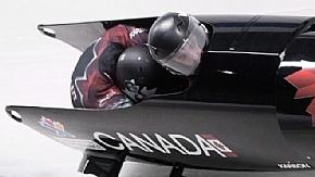 Канадские бобслеисты Джастин Криппс и Джесси Ламсден стали вторыми на ЧМ в Германии