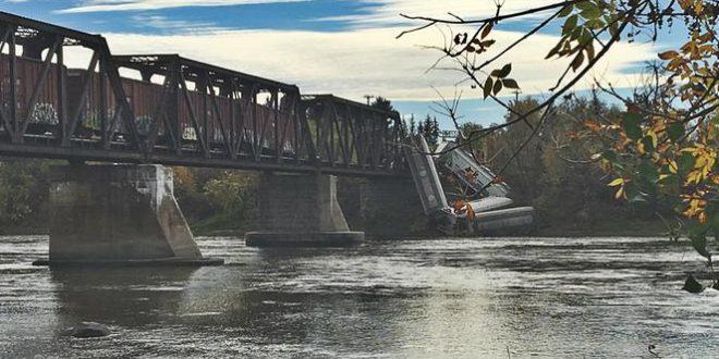 Ущерб от схода с рельсов поезда на мосту между Лавалем и Терребон составил 5 млн.$