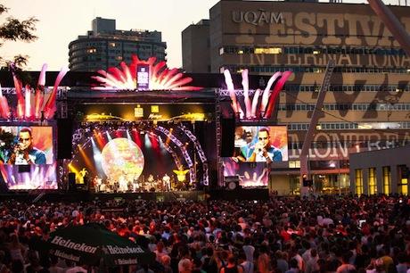 Джазовый Фестиваль приносит Монреалю больше денег, чем Формула 1