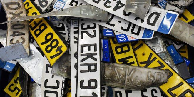 Персонализированные номера на авто – цензура не пропустила около 3000 вариантов