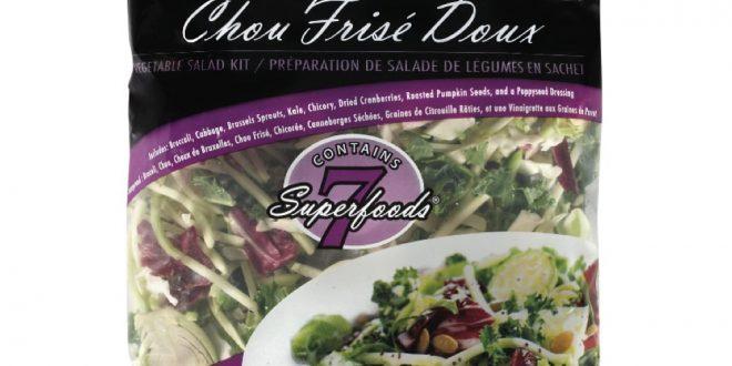 Смесь салатов «Chou frisé doux» отзывается из магазинов