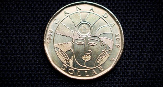 Монета «гордости» уже в Канаде