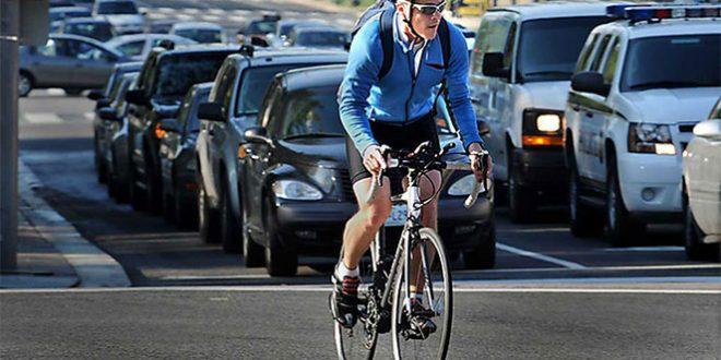 Велосипедистам теперь можно пересекать улицу вместе с пешеходами