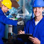 Постоянная и временная работа на заводах и фабриках