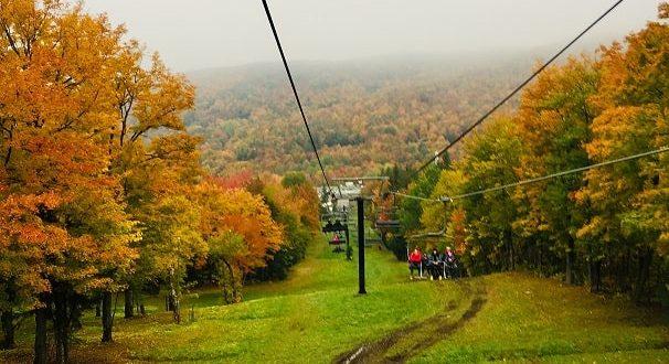 Куда пойти осенью: фестиваль осенних красок на горе Сэн-Брюно