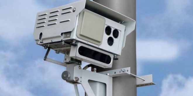 Мобильный радар установлен на трассе 440