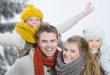 Зимний праздник в Saint-Eustache