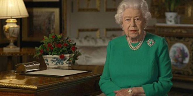 Королева Великобритании в пятый раз за 68 лет обратилась к нации.