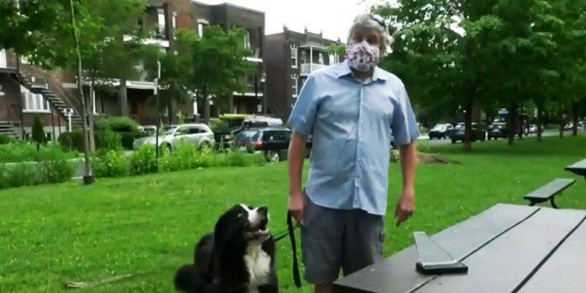 Слепого Шона Фицджиббона сократили в AIR CANADA, объявив что не могут обеспечить ему безопасное рабочее место во время пандемии