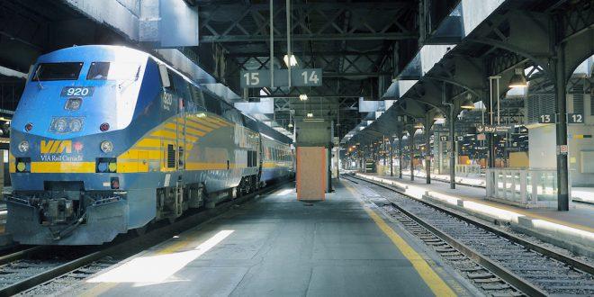Via Rail временно уволит 1000 сотрудников