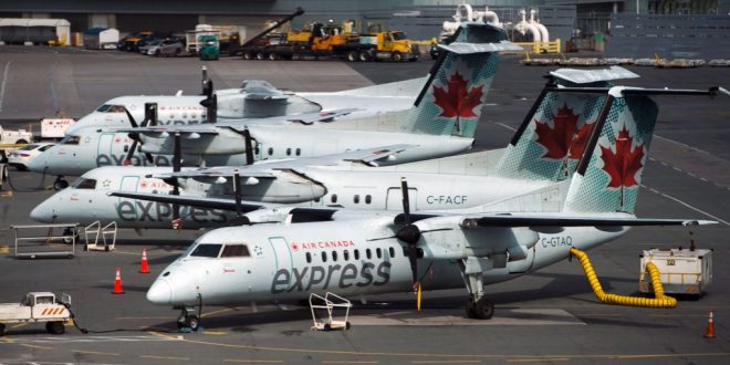 Air Canada возглавляет список иностранных авиакомпаний в США, получающих жалобы на возврат средств
