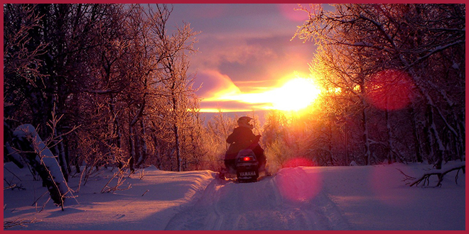 В Квебеке молодой человек погиб из-за аварии на снегоходе