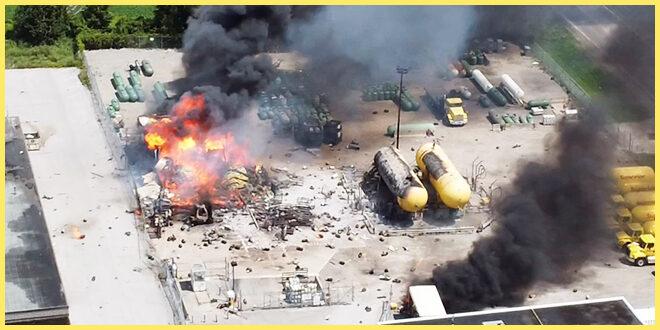 Взрыв газа в Онтарио